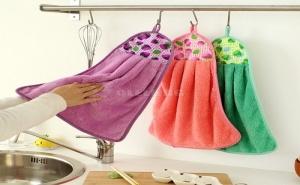 Мека Цветна Кухненска Кърпа