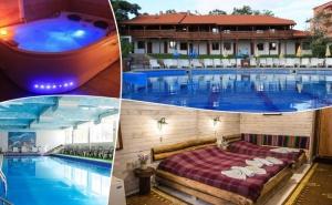 Ранни записвания за лято 2020 в Хисаря! 4 нощувки на човек със закуски и вечери + 2 басейна с минерална вода и релакс зона от Еко стаи Манастира