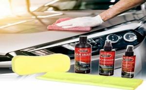 Комплект за Почистване на Автомобил
