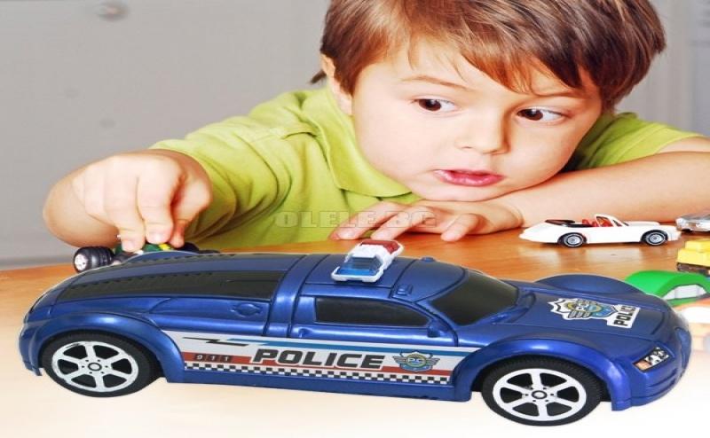 Детска Играчка Спортна Полицейска Кола