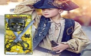 Детски Пиратски Комплект Маска с 2 Меча