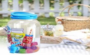 Уникален Цветен Диспенсър за Напитки с 24 Шарени Кубчета за Лед