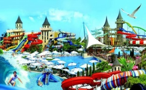 Майски Празници на Морето - Хотел Аква Парадайз Ризорт 4*, <em>Несебър</em>! Три Нощувки на Ол Инклузив, Басейн, Безплатен Паркинг / 30.04 - 24.05.2020