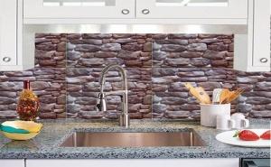 Декоративно Самозалепващо Фолио за Стена Камъни