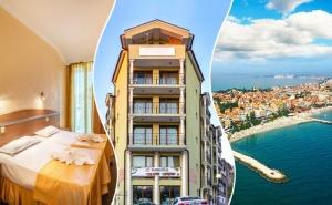 Уикенд в Поморие! 2 нощувки със закуски на човек в хотел Зевс