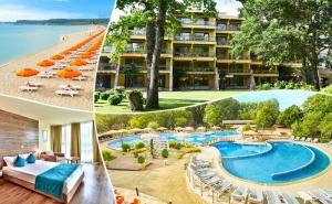 Ранни записвания за лято 2020 в Приморско! 5+ нощувки за ДВАМА на база All Inclusive + басейн в хотел Магнолиите, на 200м. от плажа. Дете до 12г. - безплатно