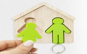 Дървена Поставка за Ключове - Мъж и Жена