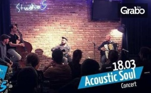 Концерт на Acoustic Soul - на 18 Март