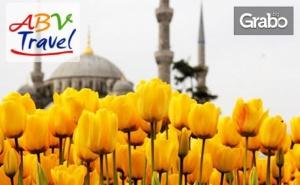 Екскурзия за Фестивала на Лалето в <em>Истанбул</em>! 3 Нощувки със Закуски, Плюс Транспорт