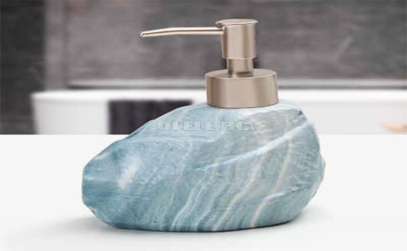 Порцеланов Диспенсър за Течен Сапун Vintage Stone