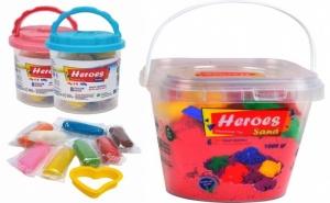 Игри в уюта на дома! Кофа с кинетичен пясък и фигурки за всички малчугани от онлайн магазин Пясъчко