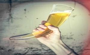 Рог за Пиене - Viking Beer Horn
