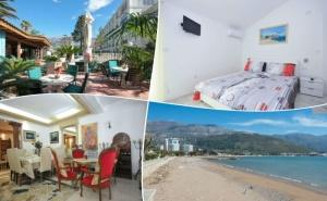 Море 2020 в <em>Будва</em>, Черна Гора! 5 или 7 Нощувки на човек със Закуски в Хотел Oaza 4* +Транспорт от Адриа Турс