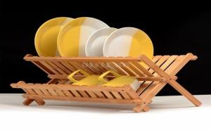 Сушилник за Чинии от Бамбук