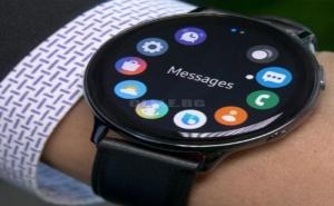 Смарт часовник Samsung Galaxy Watch 2 Aqua Black