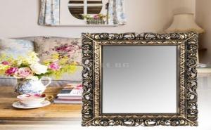 Голямо Огледало с Широка Антична Рамка