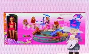Кукла с Басейн, Водна Пързалка и Аксесоари
