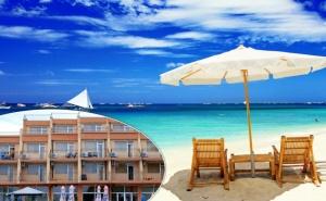 Лято 2020 на 40 Метра от Плажа в Равда! 5 или 7 Нощувки със Закуски, Обеди и Вечери в Хотел Германа Бийч