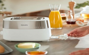 Тостер Philips Daily Collection Бял
