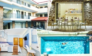 3 или 4 Нощувки на човек със Закуски + Басейн на 100М. от Плажа в Core Resort Hotel 4*, Полихрно, Гърция от Трипс Ту Гоу