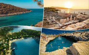 Екскурзия на Остров <em>Тасос</em>, Гърция. 3 Нощувки на човек със Закуски и Вечери +Транспорт от Та България Травъл