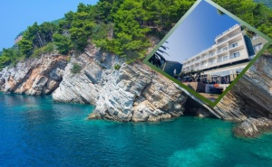 На Море в Черна Гора! Транспорт + 5 Нощувки със Закуски и Вечери в Хотел Vile Oliva**** от България Травъл