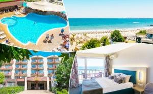 3, 5, 7 или 10 Нощувки на База Ultra All Inclusive + Басейн, Шезлонг и Чадър на Плажа от Мпм Хотел Орел, на 1-Ва Линия в <em>Слънчев бряг</em>