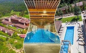 Спа Баланс за Двама със Закуски + Басейн с Минерална Вода в  Катарино Спа Хотел, до <em>Разлог</em>