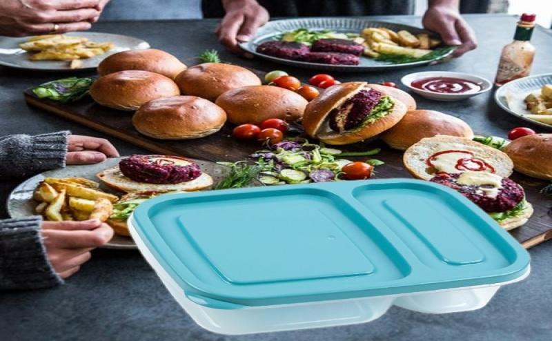 Кутия за Храна с Две Отделения