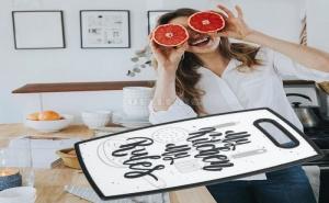 Пластмасова Дъска за Рязане My Kitchen My Rules