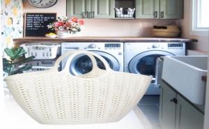 Кошница за пране с дръжки