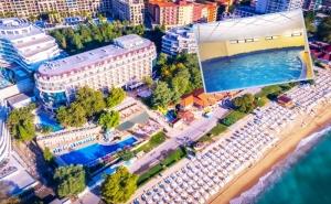 На Първа Линия в <em>Златни Пясъци</em>. Нощувка на човек на База All Inclusive + Басейн, Чадър и Шезлонг на Плажа в Хотел Калиакра Палас****