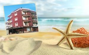 2+ Нощувки на човек на 300 Метра от Плажа в Къща за Гости Ейнджъл,  <em>Приморско</em>! Дете до 12Г. Безплатно