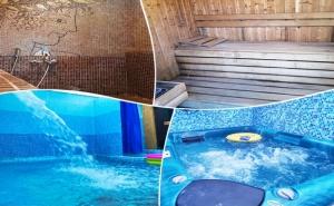 Нощувка на човек + басейн с минерална вода и релакс пакет от къща за гости Медея, Велинград