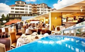 Нощувка на човек на база All inclusive light + басейн и сауна в хотел Снежанка, Пампорово