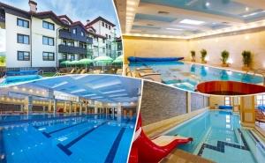 2, 3 или 5 Нощувки на човек + Басейни и Спа в Хотел 7 Пулс & Спа Апартмънтс, <em>Банско</em>