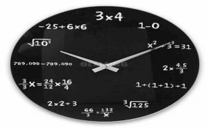 Математически Стенен Часовник