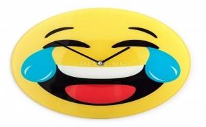 Стенен Часовник Емотикон Смях