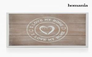 Подноси I Love My Home от Homania (Опаковка от 2)