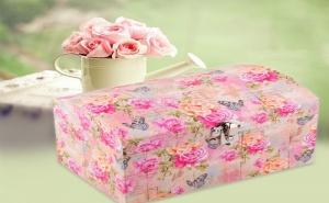 Романтична Кутия Сандъче Рози