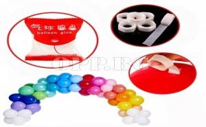 100 Броя Лепилни Точки за Балони