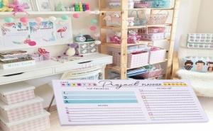 Комплект 50 Броя Листчета за Задачи Project Planner