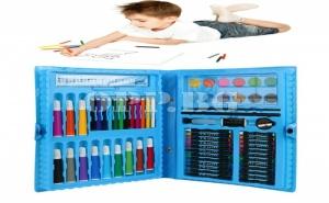 Комплект за Оцветяване и Рисуване от 68 Части за Момче