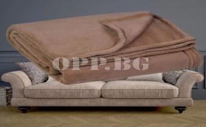 Покривало за мебели цвят Мляко с кафе (130х160 см.)