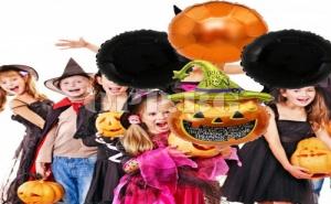 Комплект от Фолирани Балони Halloween (Опаковка от 4 Броя)