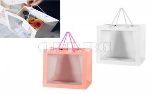Опаковъчна Чанта с Прозрачен Pvc Прозорец
