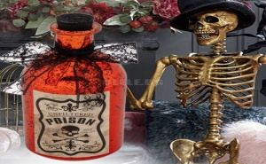 Декоративна Стъклена Бутилка Poison