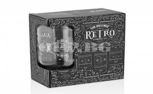 Комплект от 3 Броя Стъклени Буркани Retro