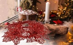 Венец за Свещ Коледна Звезда
