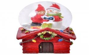Сладурско Преспапие Коледна Къщичка